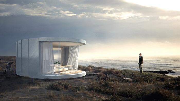 Take in the views with this prefabricated curved glass sliding doors take in the views with this prefabricated curved glass sliding doors archdaily planetlyrics Image collections
